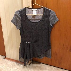Zoe Size XS Black/White Top